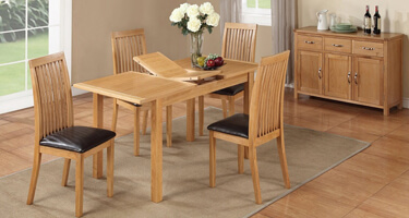 Annaghmore Hartford City Oak Dining Room