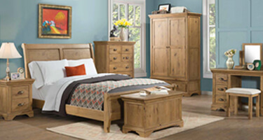 Annaghmore Lyon Solid Oak Bedroom