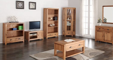 Annaghmore Oakridge Solid Oak Living Room