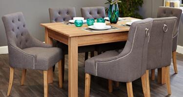 Baumhaus Mobel Oak Dining Room