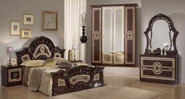 Ben Company Sara Mahogany Italian Bedroom
