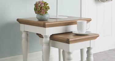 Bentley Designs Hampstead Two Tone Living Room