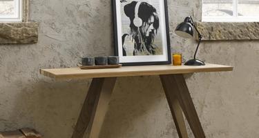 Bentley Designs Cadell Aged Oak Living Room