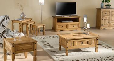 Birlea Furniture Corona Pine Living Room