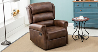 Birlea Furniture Manhattan Faux Leather Chairs