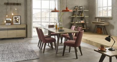 Bentley Designs Cadell Aged Oak Dining Room