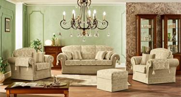 Camel Group Nostalgia Fabric Sofas