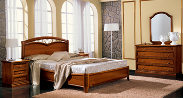Camel Group Nostalgia Walnut Italian Bedroom