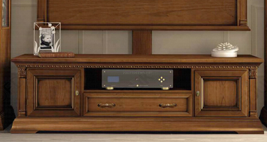 Camel Group Treviso Cherry Finish Italian Living Room