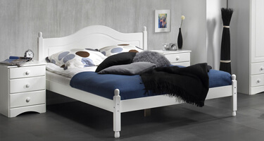Copenhagen White Bedroom