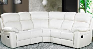 Furniture Link Aston Ivory Leather Sofas