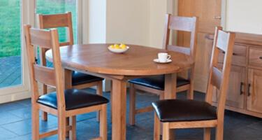 Furniture Link Hampshire Oak Dining Room