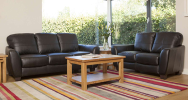 Furniture Link Naples Leather Sofas