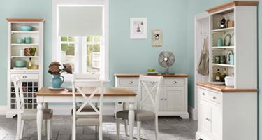 Bentley Designs Hampstead Two Tone Dining Room