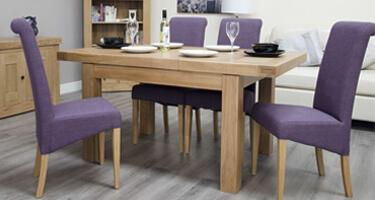 Homestyle GB Bordeaux Oak Dining Room