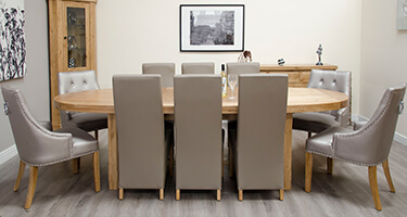 Homestyle GB Deluxe Oak Dining Room