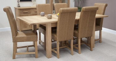 Homestyle GB Opus Oak Dining Room