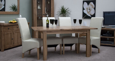 Homestyle GB Rustic Oak Dining Room