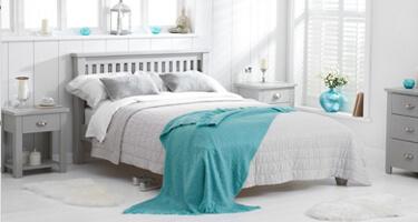 Mark Harris Sandringham Grey Bedroom