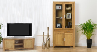 Mark Harris Verona Oak Living Room