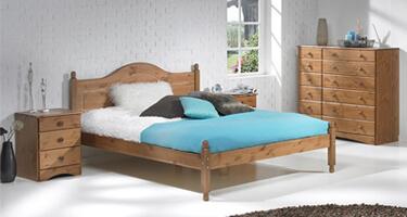 Scandi Pine Bedroom