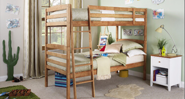 Serene Furnishings Hevea Bunk Beds