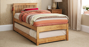 Serene Furnishings Hevea Guest Beds