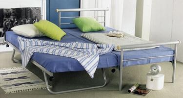 Serene Furnishings Metal Guest Beds