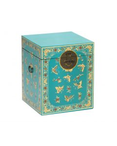 Baumhaus The Nine Schools Oriental Decorated Blue Trunk