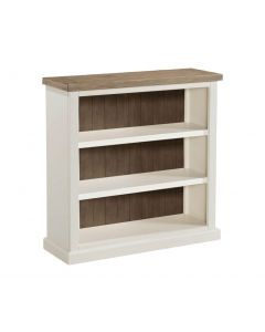 Annaghmore Santorini Painted Low Bookcase