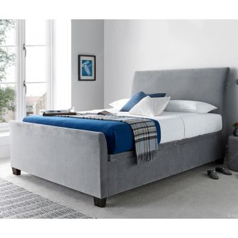 Kaydian Beds Allendale Velvet Plume Fabric Ottoman Bed Frame
