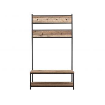 Birlea Furniture Urban Rustic Coat Rack and Bench