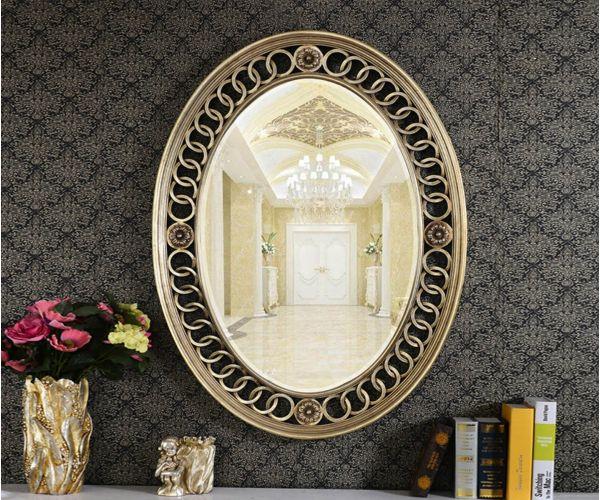 Derrys Furniture Boucle Antique Silver Mirror