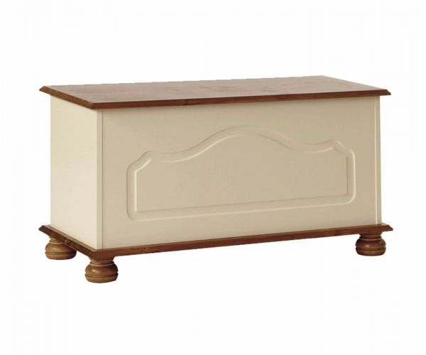 FTG Copenhagen Cream and Pine Blanket Box
