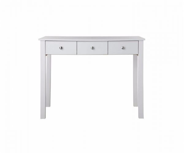 FTG Florence White 3 Drawer Dressing Table