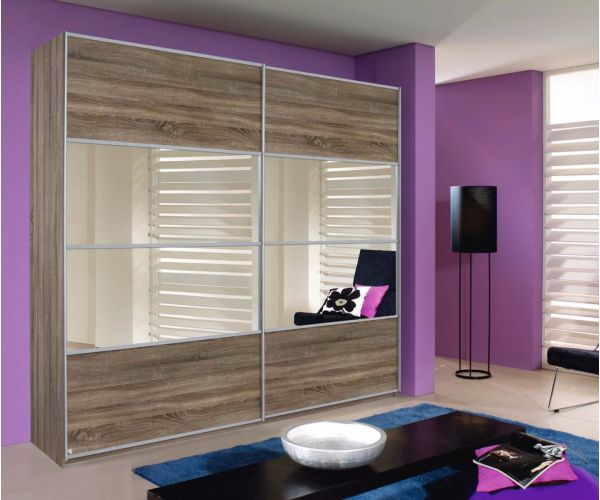 Rauch Furniture Quadra Gliding Door Wardrobe