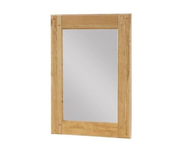 Annaghmore Newbridge Light Oak Wall Mirror