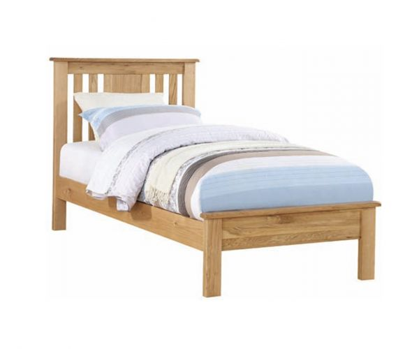 Annaghmore Newbridge Light Oak Low Footend Bed Frame