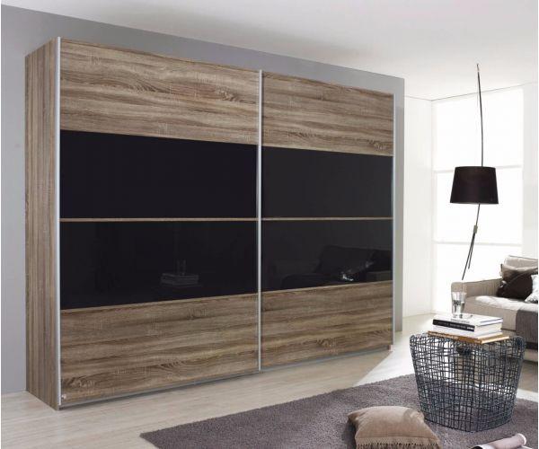 Rauch Furniture Quadra Gliding Door Wardrobe (W226cm)