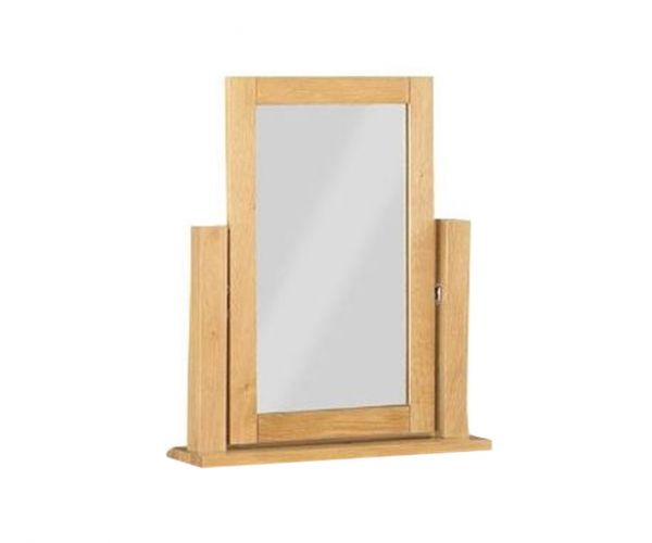 Annaghmore Glenbrook Oak Vanity Mirror