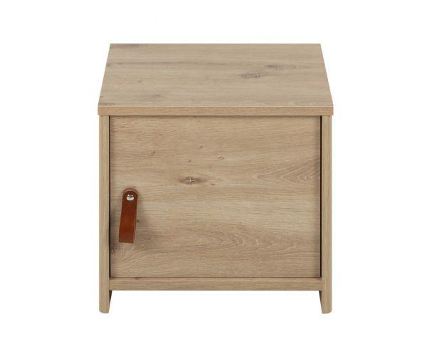 Gami Arthus Artisan Oak 1 Door Bedside Table