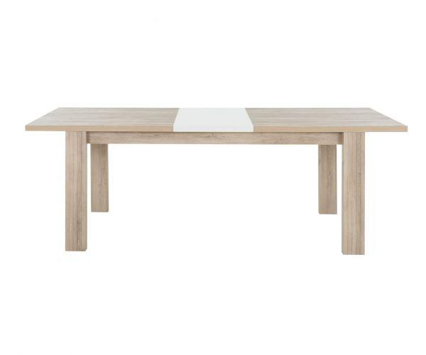 Gami Aston Light Oak Rectangular Extension Dining Table