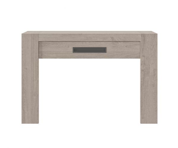 Gami Boston Light Grey Oak 1 Drawer Console Table