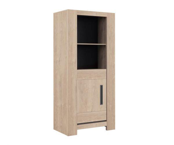 Gami Boston Blond Oak 1 Door Display Unit