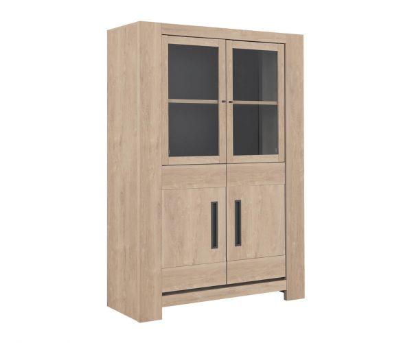 Gami Boston Blond Oak 4 Door Display Unit