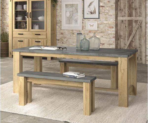 Gami Broceliande Light Oak Rectangular Dining Table