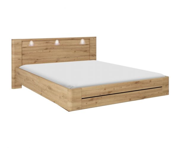 Gami Confidence Artisan Oak Bed Frame