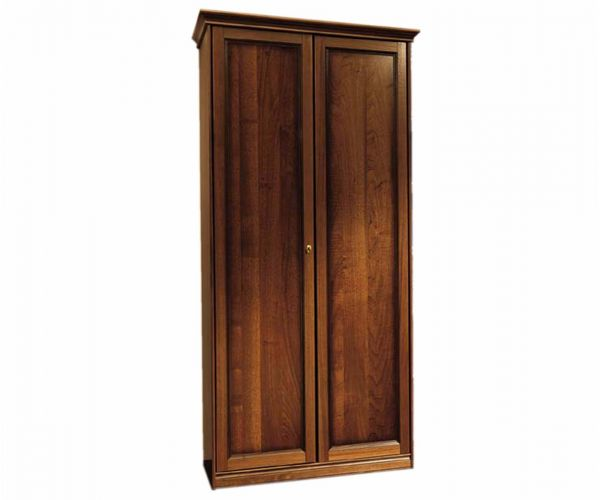Camel Group Nostalgia Walnut Finish 2 Door Wardrobe