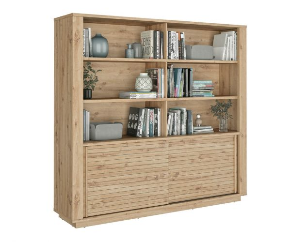 Gami Estran Light Oak Bookcase