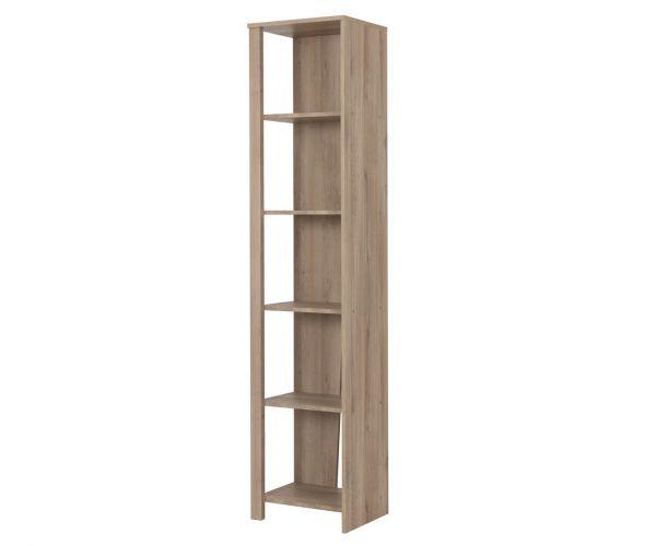 Gami Ethan Light Oak Bookcase